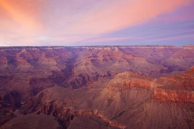 Sunset at Mather Point in Grand Canyon National Park, Arizona-John Burcham-Photographic Print