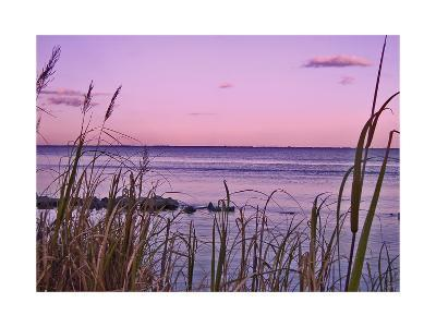 Sunset at Outer Banks, near Corolla-Martina Bleichner-Art Print