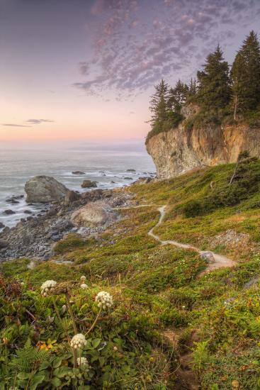 Sunset at Patrick's Point, Northern California-Vincent James-Photographic Print