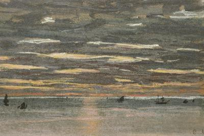 Sunset at Sea, 1865-1870-Claude Monet-Giclee Print