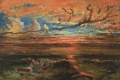 Sunset at Sea after a Storm-Francis Danby-Giclee Print