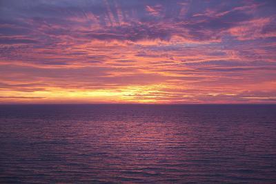 Sunset at Sea-Karyn Millet-Photographic Print