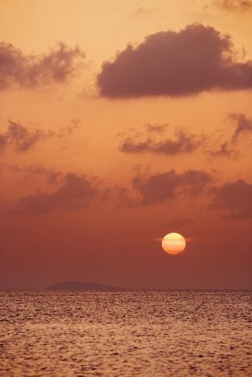 Sunset at St. John, U.S. Virgin Islands-Macduff Everton-Photographic Print