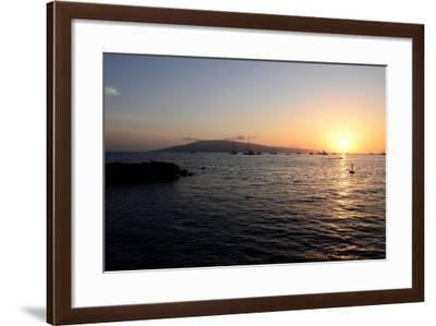 Sunset At The Bay-Bruce Nawrocke-Framed Art Print