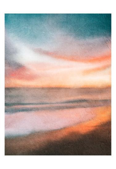 Sunset at the Beach-Kimberly Allen-Art Print