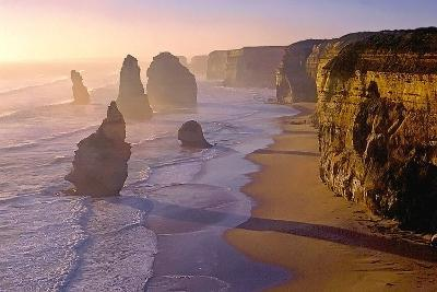Sunset at the Twelve Apostles-TGR Photography-Photographic Print