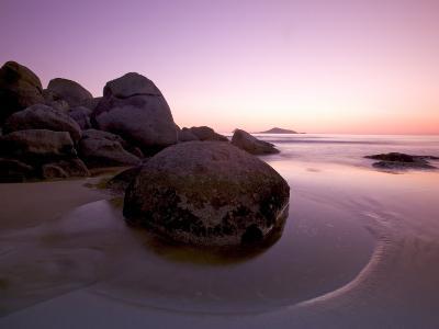 Sunset at Whiskey Beach, Wilson's Promontory, Victoria, Australia-Thorsten Milse-Photographic Print