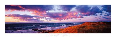 Sunset Beach-Bent Rej-Giclee Print