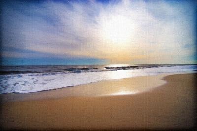 Sunset Beach-Suzanne Foschino-Art Print