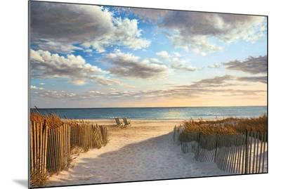 Sunset Beach-Daniel Pollera-Mounted Art Print