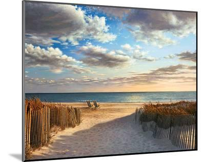 Sunset Beach-Daniel Pollera-Mounted Print