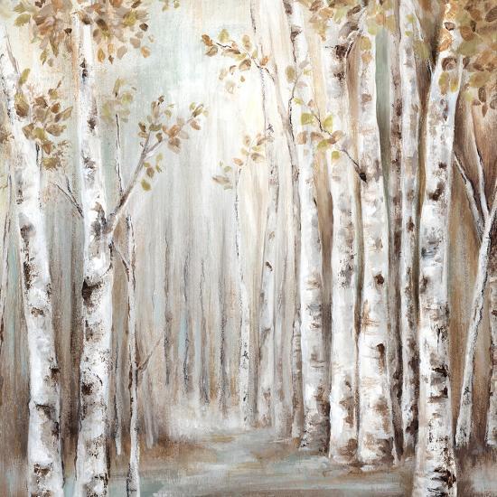 Sunset Birch Forest Iii-PI Creative Art-Art Print