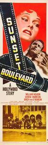 Sunset Boulevard, Gloria Swanson, William Holden, Nancy Olson, 1950