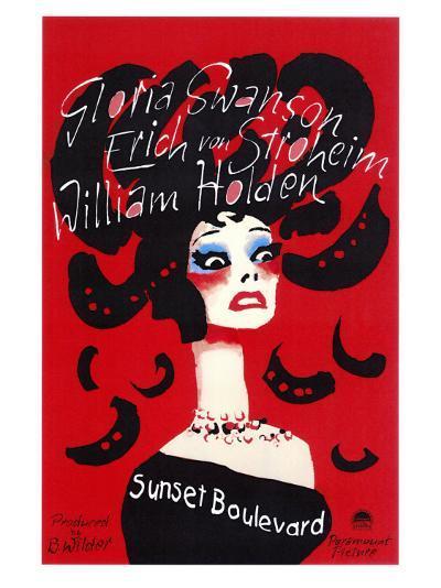 Sunset Boulevard--Art Print