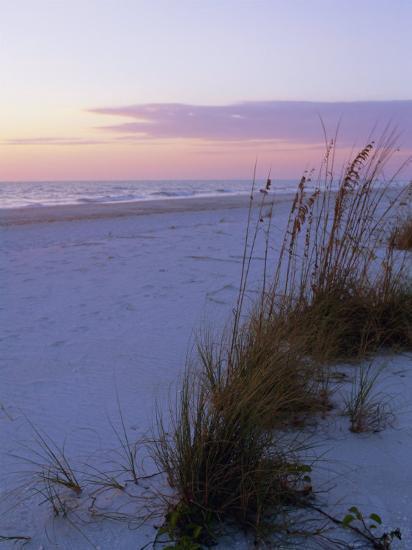 Sunset, Bradenton Beach, Anna Maria Island, Gulf Coast, Florida, USA  Photographic Print by Fraser Hall | Art com