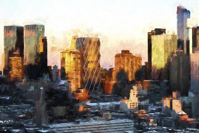 Sunset Buildings-Philippe Hugonnard-Giclee Print