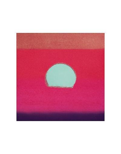 Sunset, c.1972 40/40 (fuchsia)-Andy Warhol-Art Print