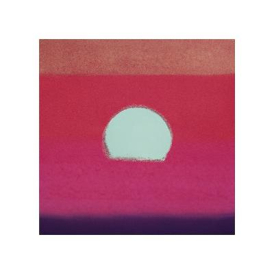 Sunset, c.1972 (hot pink, purple, red, blue)-Andy Warhol-Giclee Print