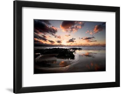 Sunset, Cantabria-Marina Cano-Framed Giclee Print