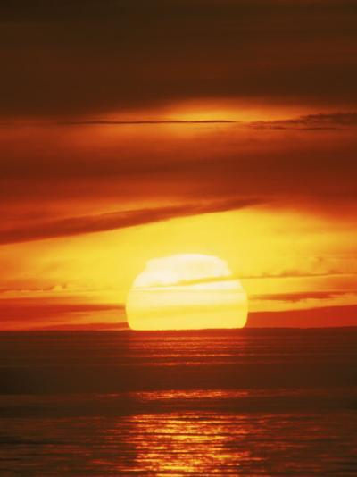 Sunset, Cape Cod, MA-John Greim-Photographic Print