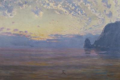 Sunset Catalina Island-William Lees Judson-Art Print