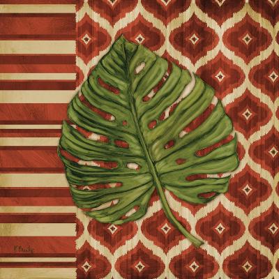 Sunset Cay Palm I-Paul Brent-Art Print