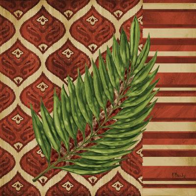 Sunset Cay Palm IV-Paul Brent-Art Print