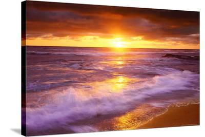 Sunset Cliffs Beach, San Diego, California--Stretched Canvas Print
