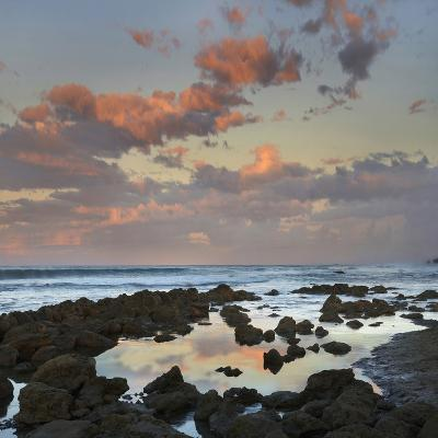 Sunset Clouds over Playa Santa Teresa, Costa Rica-Tim Fitzharris-Photographic Print