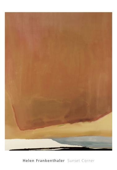 Sunset Corner, 1969-Helen Frankenthaler-Art Print
