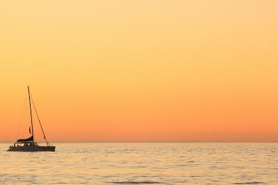 Sunset Cruise at Cape Town-Tony Hawthorne-Photographic Print