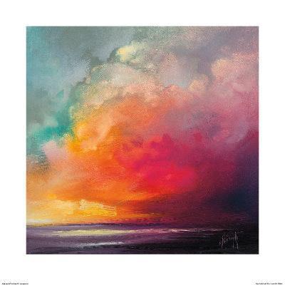 Sunset Cumulus Study 1-Scott Naismith-Art Print