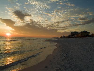 Sunset, Destin, Florida, USA-Ethel Davies-Photographic Print