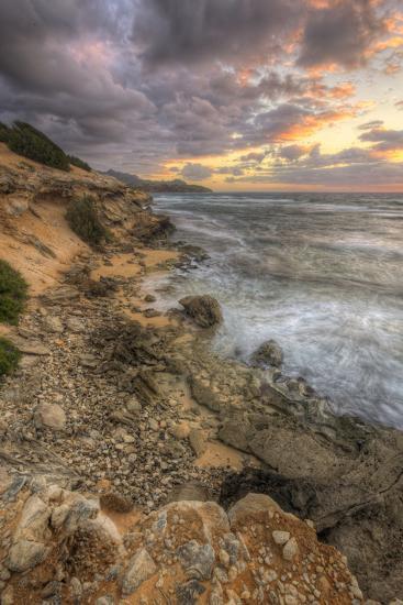 Sunset Drama at Shipwreck Beach, Kauai Hawaii-Vincent James-Photographic Print