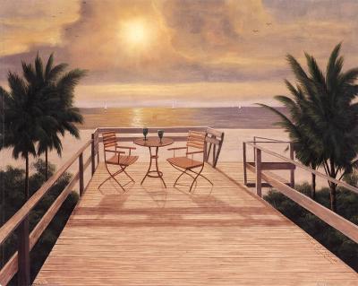 Sunset Dreams-Diane Romanello-Art Print
