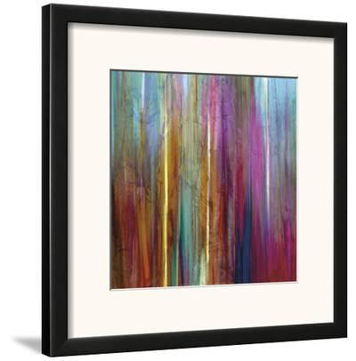 Sunset Falls I-John Butler-Framed Art Print