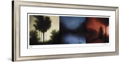 Sunset Forest II-Deac Mong-Framed Giclee Print