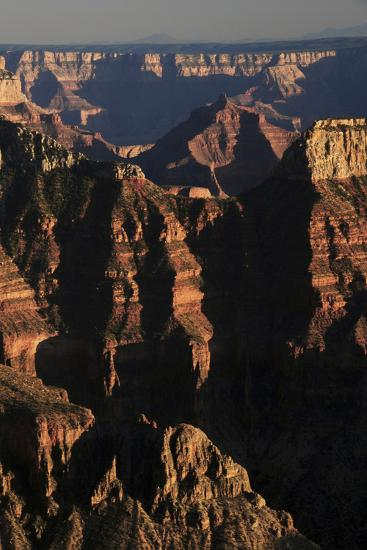 Sunset From Bright Angel Point North Rim Grand Canyon National Park Arizona Photographic Print By Michel Hersen Art Com