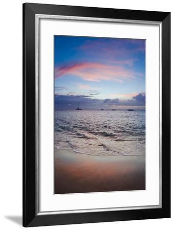 Sunset From Kaanapali Beach Maui Hawaii Usa Photographic Print By Roddy Scheer Art Com