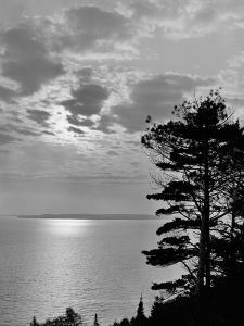 Sunset from Mackinac Island, Mich.