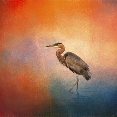 Sunset Heron-Jai Johnson-Giclee Print