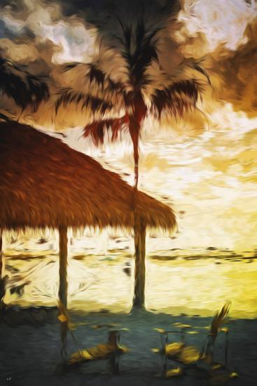 Sunset Hot Sun - In the Style of Oil Painting-Philippe Hugonnard-Giclee Print
