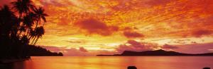 Sunset, Huahine Island, Tahiti