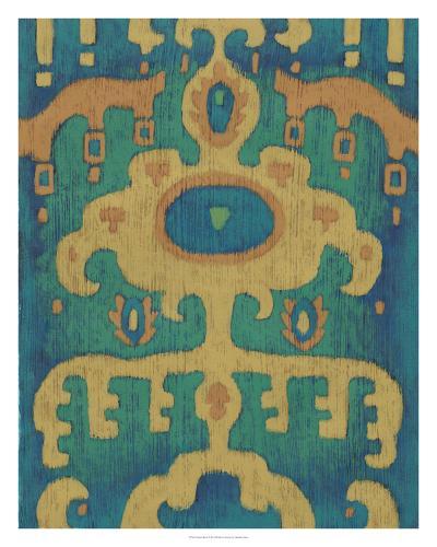 Sunset Ikat I-Chariklia Zarris-Giclee Print