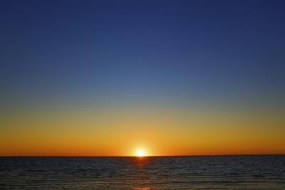 Sunset Impression at Ocean-Frank Krahmer-Photographic Print