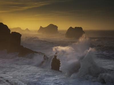Sunset in Arnia-Martin Zalba-Photographic Print