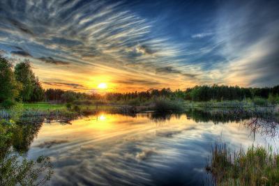 Sunset in HDR- dennisjacobsen-Photographic Print