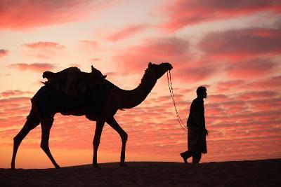 Sunset in Jaisalmer-Milind Torney-Photographic Print