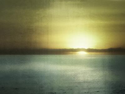 Sunset In Malibu-Golie Miamee-Art Print