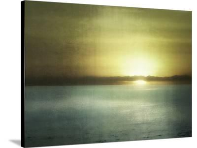 Sunset In Malibu-Golie Miamee-Stretched Canvas Print
